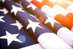 Jour de la Déclaration d'Indépendance des Etats-Unis, le 4 juillet Photographie stock libre de droits