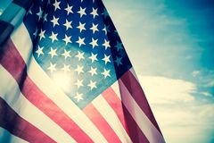 Jour de la Déclaration d'Indépendance des Etats-Unis, le 4 juillet Photos stock