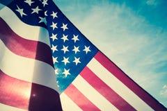 Jour de la Déclaration d'Indépendance des Etats-Unis, le 4 juillet Images libres de droits