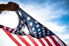 Jour de la Déclaration d'Indépendance des Etats-Unis, le 4 juillet Photographie stock