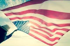 Jour de la Déclaration d'Indépendance des Etats-Unis, le 4 juillet photo libre de droits