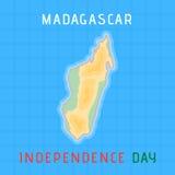 Jour de la Déclaration d'Indépendance du Madagascar Photographie stock