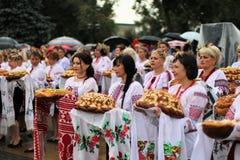 Jour de la Déclaration d'Indépendance du ` s de l'Ukraine Images stock