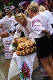 Jour de la Déclaration d'Indépendance du ` s de l'Ukraine Photographie stock libre de droits
