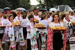 Jour de la Déclaration d'Indépendance du ` s de l'Ukraine Image stock