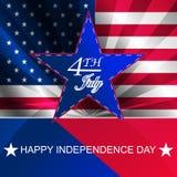 Jour de la Déclaration d'Indépendance, fond Photos stock