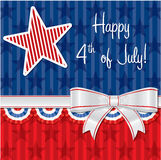 Jour de la Déclaration d'Indépendance heureux ! Image libre de droits