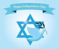 Jour de la Déclaration d'Indépendance heureux ! Photographie stock