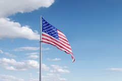 Jour de la Déclaration d'Indépendance le 4ème juillet Image libre de droits