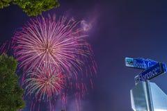 Jour de la Déclaration d'Indépendance le 4 juillet 2018 Photographie stock libre de droits