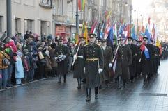 Jour de la Déclaration d'Indépendance lithuanien Photo libre de droits