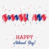 Jour de la Déclaration d'Indépendance de la Nouvelle-Calédonie miroitant Photos stock