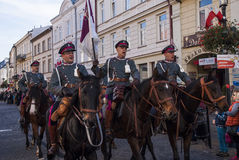 Jour de la Déclaration d'Indépendance Pologne Photographie stock libre de droits