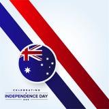 Jour de la D?claration d'Ind?pendance d'Australie illustration libre de droits