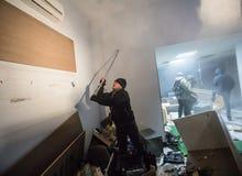 Jour de la dignité et de la liberté en Ukraine Images libres de droits