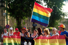 Jour de la fierté homosexuelle 09 Images libres de droits