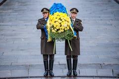 Jour de la libération de l'Ukraine des envahisseurs fascistes photo stock
