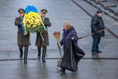 Jour de la libération de l'Ukraine des envahisseurs fascistes images libres de droits