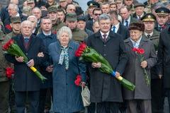 Jour de la libération de l'Ukraine des envahisseurs fascistes photo libre de droits