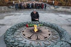 Jour de la libération de l'Ukraine des envahisseurs fascistes images stock