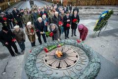 Jour de la libération de l'Ukraine des envahisseurs fascistes photos libres de droits