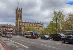 Jour de la semaine habituel à Edimbourg Photographie stock libre de droits