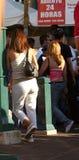 Jour de Ladys à l'extérieur photos stock