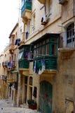 Jour de lavage, La Valette, Malte Photographie stock