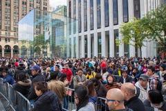Jour de libération d'IPhone 6 à New York City Image libre de droits