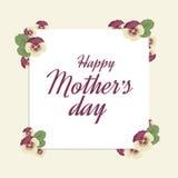 Jour de mère heureux Images stock