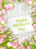 Jour de mère heureux ENV 10 Image stock