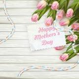 Jour de mère heureux ENV 10 Images stock