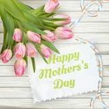 Jour de mère heureux ENV 10 Images libres de droits