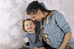Jour de mères, enfant, mère, enfant, maman, amour, femme Image stock