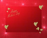 Jour de mères heureux Images libres de droits