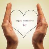 Jour de mères heureux Photographie stock libre de droits