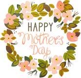 Jour de mères heureux Image stock