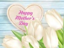Jour de mères heureux ENV 10 Photographie stock