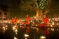 Jour de Magha Puja Image stock