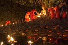 Jour de Magha Puja Images stock