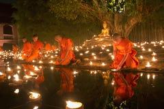 Jour de Magha Puja Photo stock