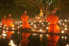 Jour de Magha Puja Photos libres de droits