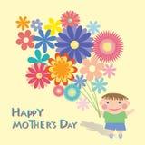 Jour de mamans Image stock
