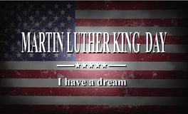 Jour de Martin Luther King Photo libre de droits