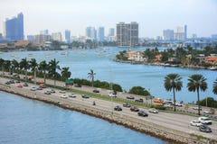 Jour de Miami, la Floride Image stock