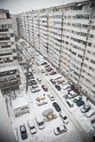 Jour de neige Photographie stock