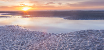 Jour de nouvelles années de lever de soleil Photographie stock