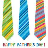 Jour de père heureux Photographie stock libre de droits