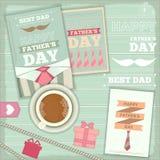 Jour de pères Photo libre de droits