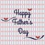 Jour de pères Image libre de droits